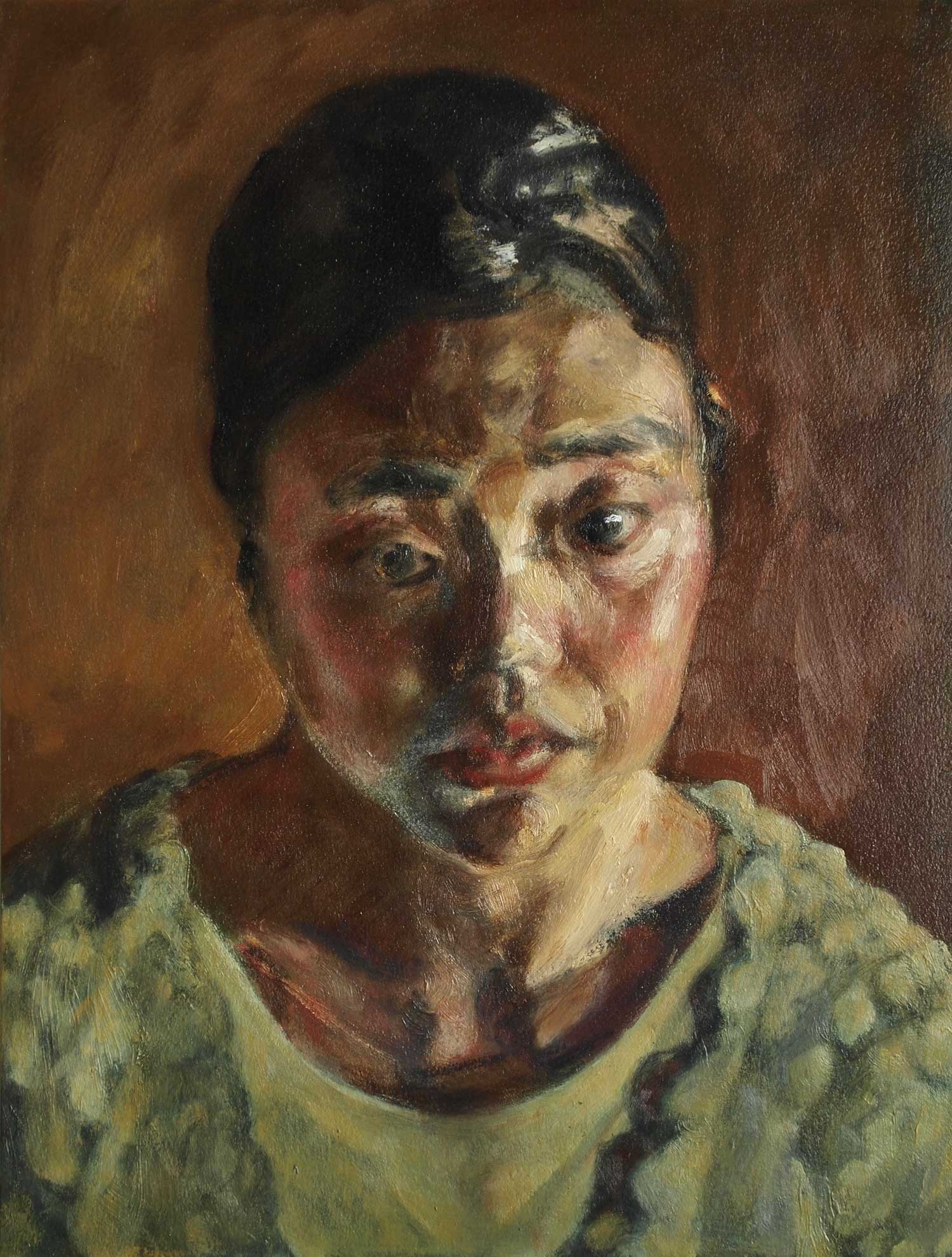 Kouta Sasai - Bust of a Woman
