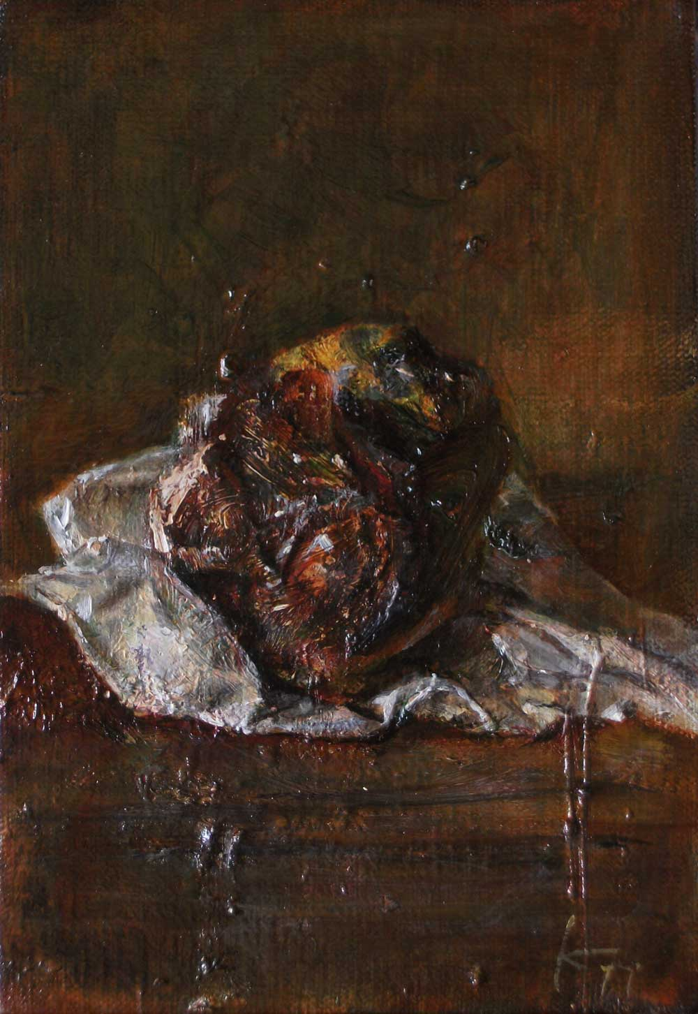Kouta Sasai - Still Life With a Withered Quince