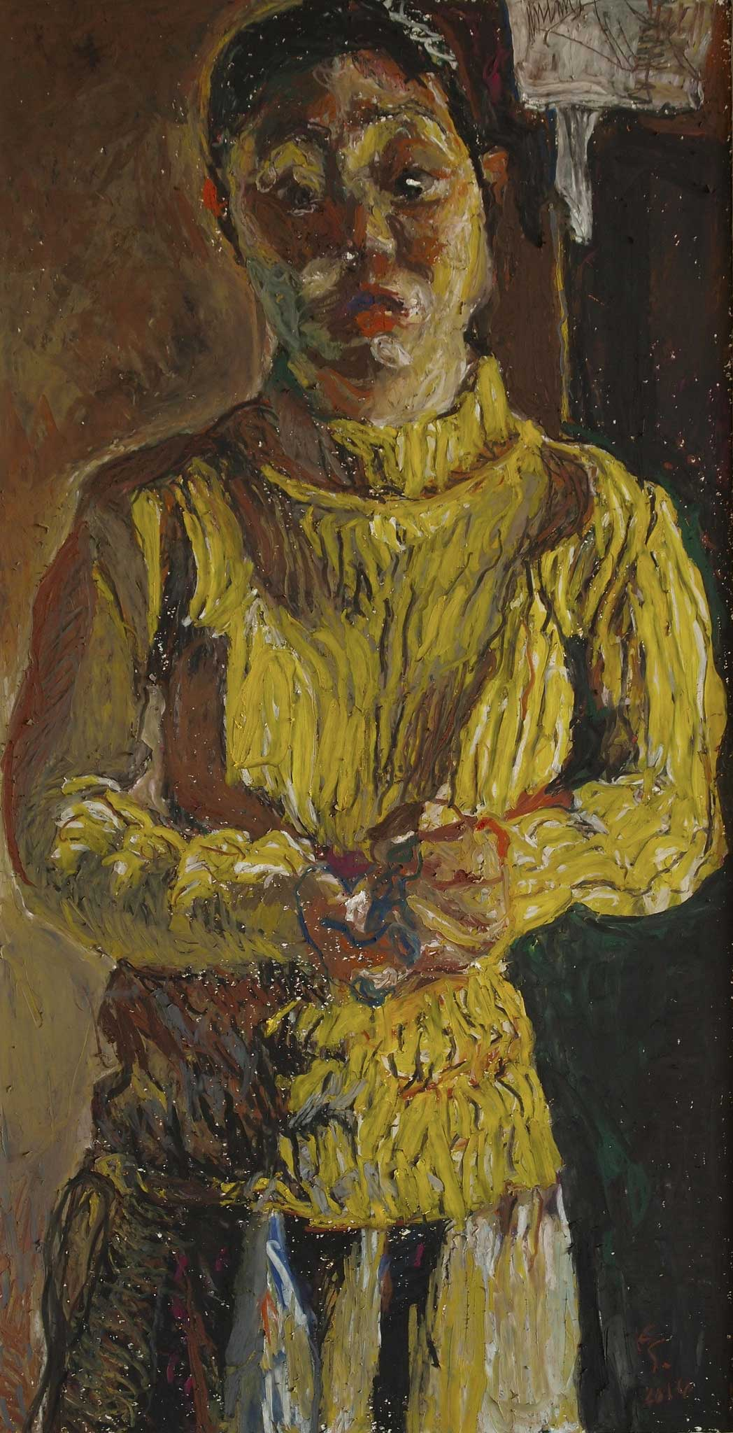 Kouta Sasai - Woman in Yellow