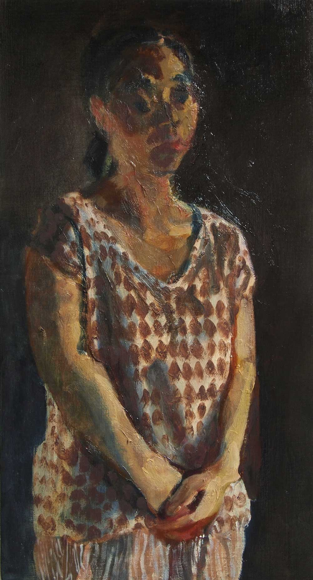Kouta Sasai - Woman Standing in the Late Afternoon Light