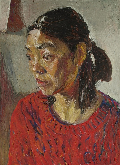 Kouta Sasai - Woman in Red