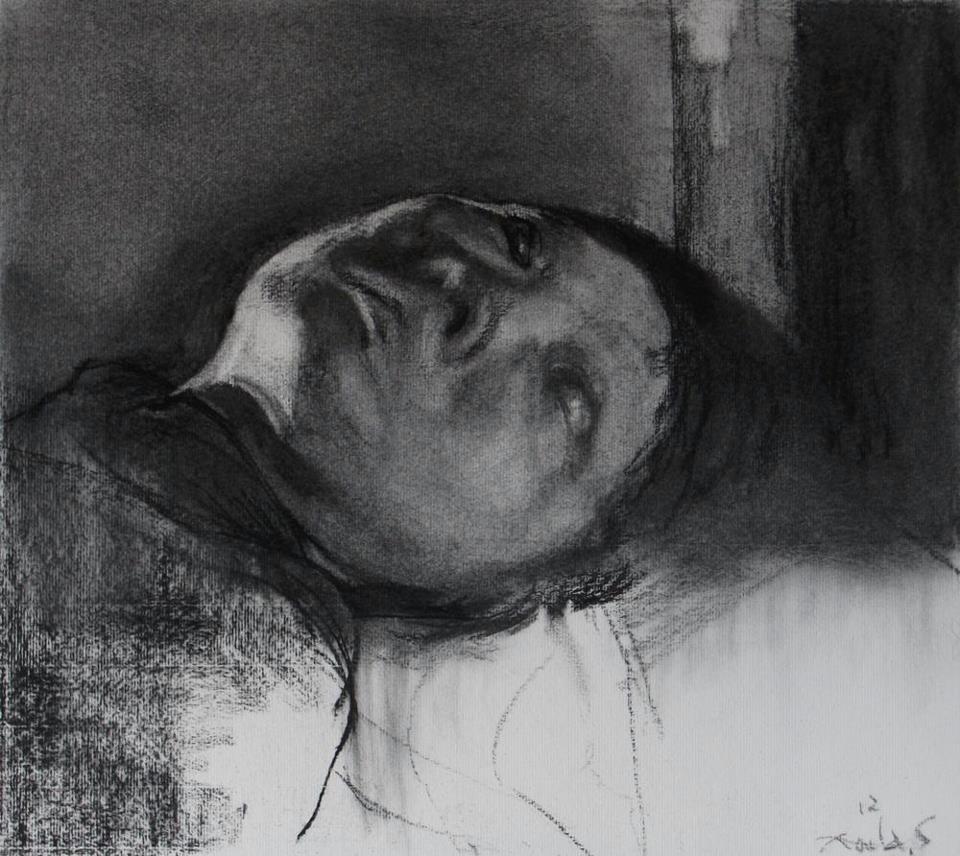 Kouta Sasai - Woman Lying Down