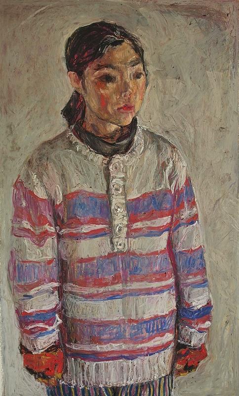 Kouta Sasai - Woman in Red Gloves