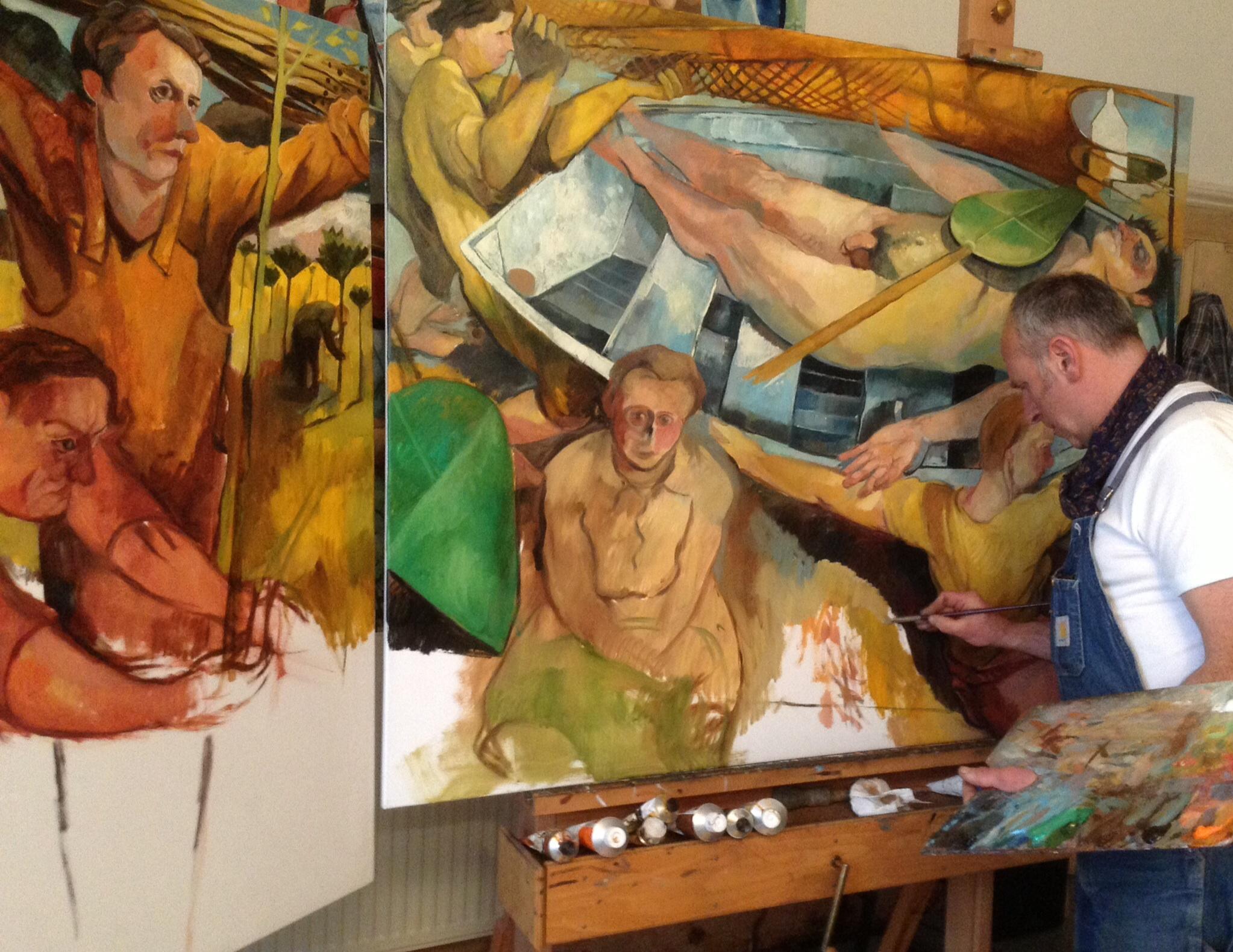 Steve Des Landes studio